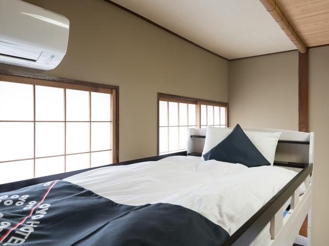 和室2段ベッドタイプ4人部屋