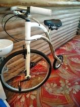 変な自転車('ω')ノ