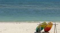 ・南国の青い海とビーチ