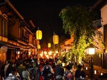 飛騨古川 きつね火まつり(毎年9月の第四土曜日開催)