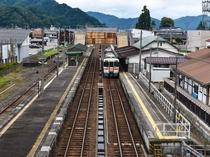飛騨古川駅「君の名は。」聖地巡礼