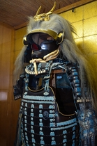 神岡城 城内部展示の鎧