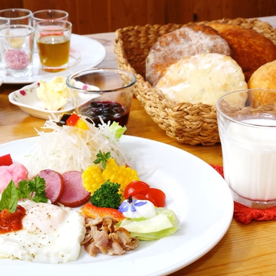 コテージ貸し切り(夕食・朝食付☆ファームレストランの厳選メニュー)