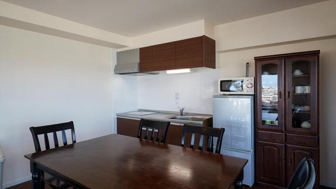 【WEB割】最上階ファミリールーム専用プラン♪ジャグジー付きの広いお部屋で北谷の絶景を堪能!