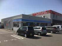 【ローソン】ホテルより550m 徒歩6分。8号線沿い(福井市、坂井市)のコンビニは希少です。
