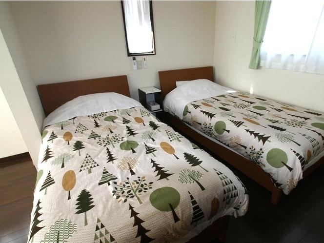 4名用寝室和洋室のベットルーム