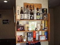 酒屋もビックリ!これだけレアな焼酎が揃うお店はなかなかありません。ロック1合¥300〜800(税別)