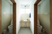 客室近くのトイレ