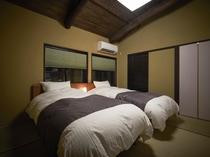西陣北はぎ2F寝室