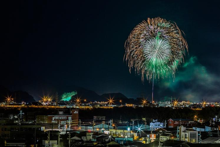 安倍川花火