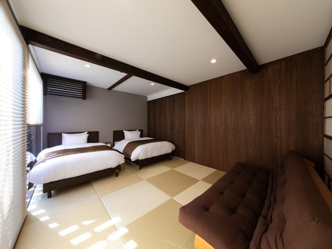 撫子 1階ベッドルーム