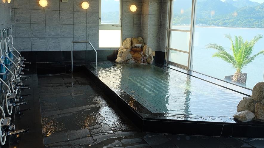 大浴場(男湯)「熊野灘の湯」