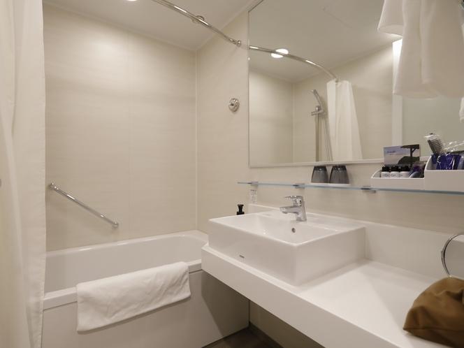 トイレ別タイプのバスルーム