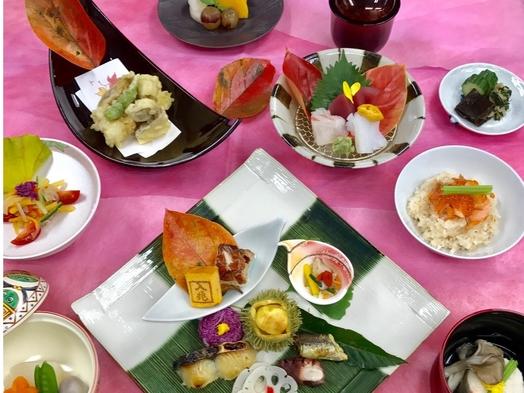 ☆☆☆【夕食・朝食付きプラン】♪四季料理「入兆」の会席料理♪付きプランです☆☆☆