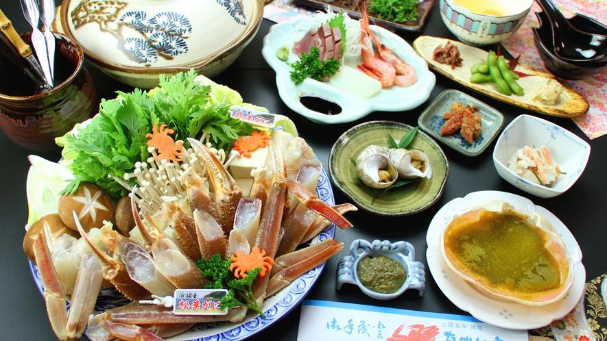 カニソムリエの女将が贈る!冬のごちそう♪カニ鍋コースを召し上がれ!!
