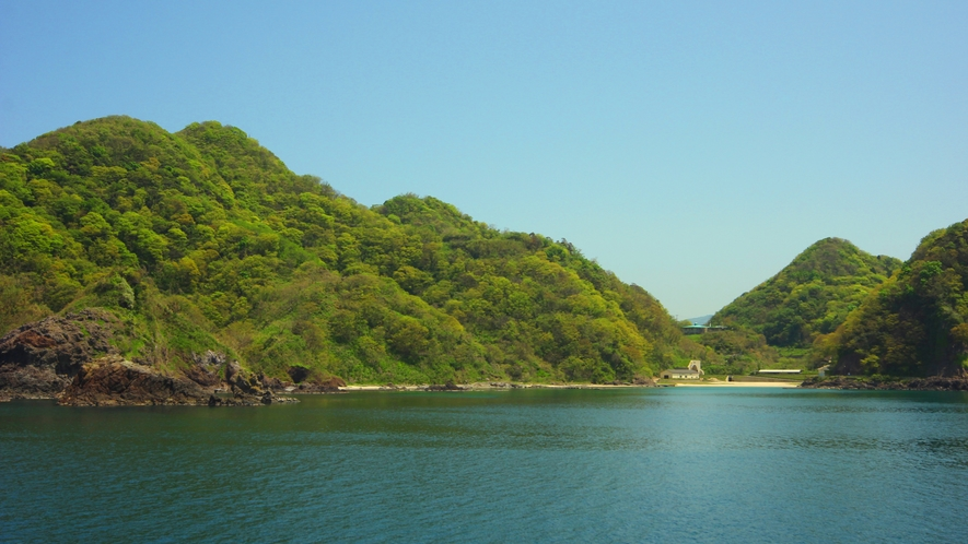 綺麗で透明度の高い諸寄の海 忘れられない美しい海がございます