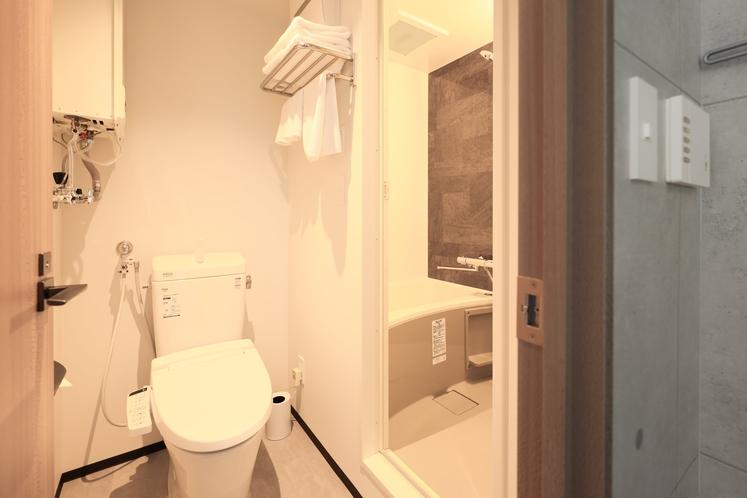 モデレートツインルーム バスルーム