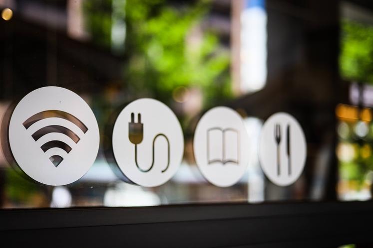 カフェ 設備ロゴ