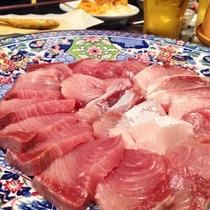 *夕食一例/脂の乗ったブリだからこそ、しゃぶしゃぶがオススメ☆身も厚く食べ応え抜群です!