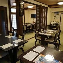 *お食事処/「居酒屋風」のお食事処で、日本海の魚と米どころ、新潟のおいしいお酒をご提供。