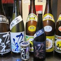 *夕食一例/新潟の美味しい地酒をご用意しております。