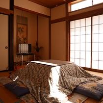 *和室一例/6畳~10畳のお部屋を人数によってご用意いたします。