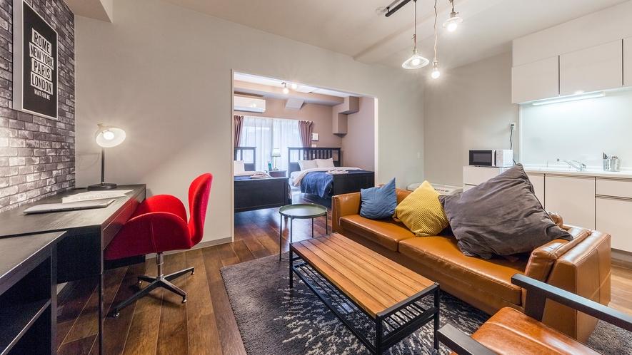スペシャルスイート キッチン・リビングスペース完備でゆったり過ごせるお部屋
