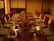 個室食事場所