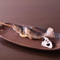 *お夕食一例(焼物)