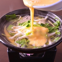 *お夕食一例(鍋物)