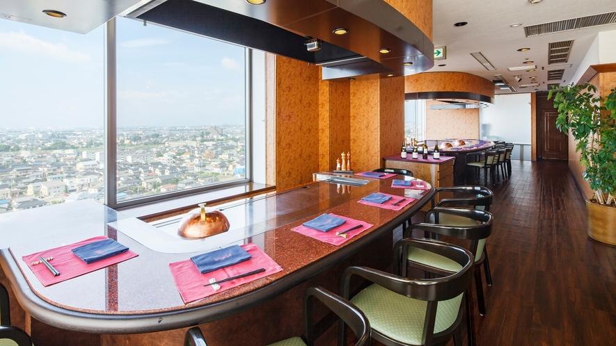 13階◆鉄板焼レストラン 欅欅[KEYAKI]  ◆