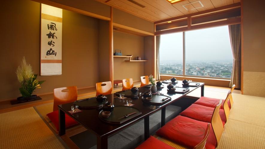 13階 ◆日本料理レストラン 雲居  ◆個室(お座敷)