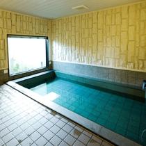 大浴場  ◎疲れた体を癒してくれます。人工温泉
