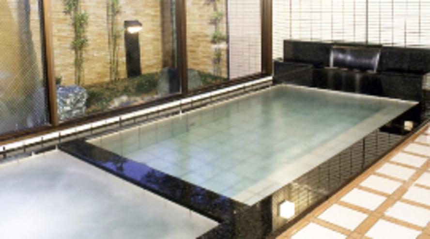 庭園付き大浴場