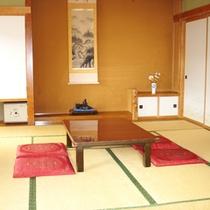 *和室12畳(一例)落ち着いた空間でゆったりとお寛ぎください。
