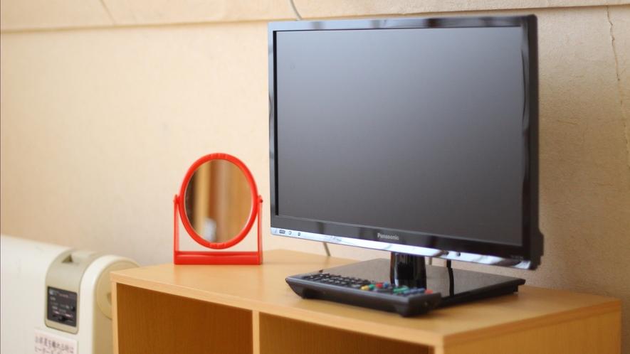 全室テレビ、ルームキー付きです
