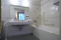 ハンディキャップルーム 浴室