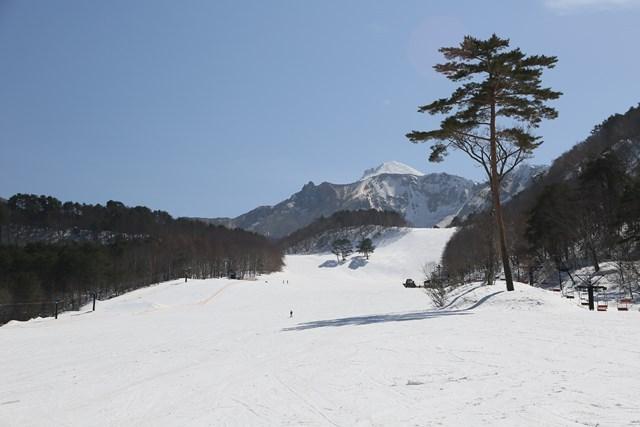 ホテルに最も近い「裏磐梯スキー場」