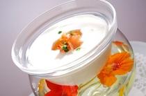 ポテトとリーキの冷製スープ