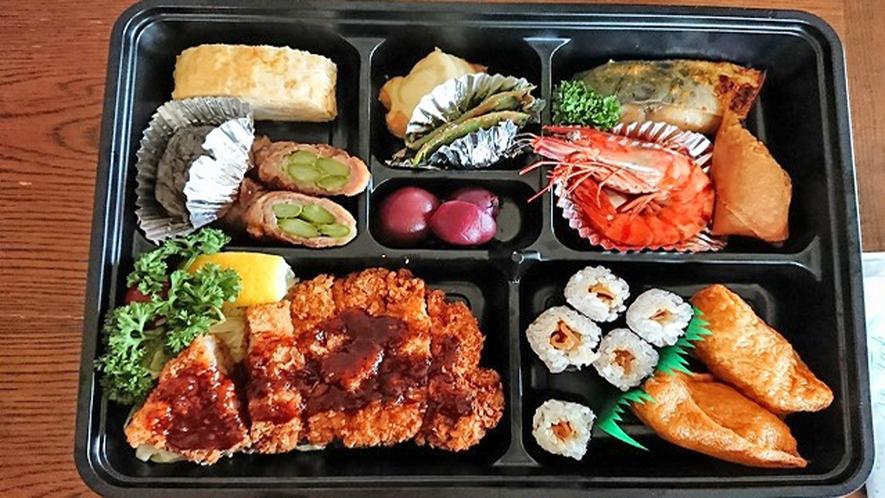 *【夕食一例/お弁当】こちらを召し上がって、花火大会へお出かけください。