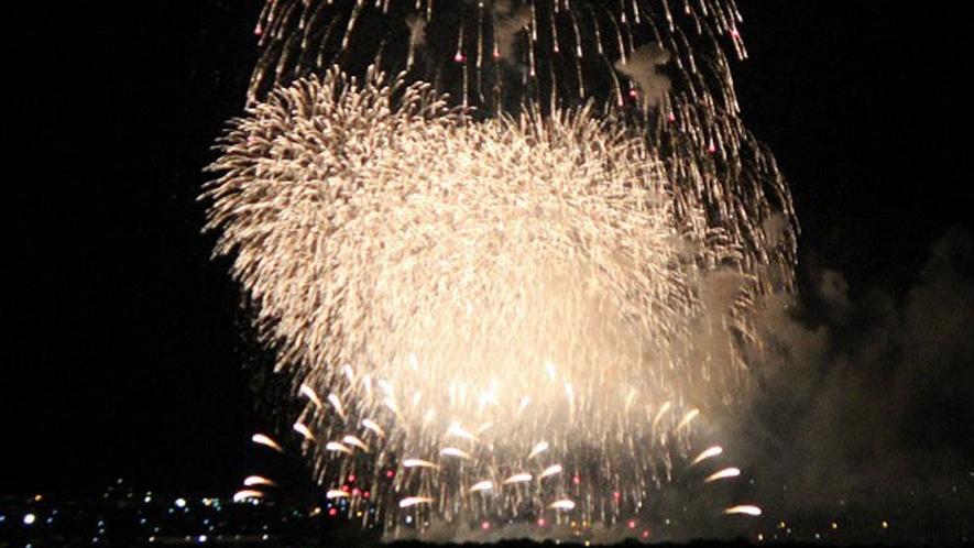 *【花火】安曇野花火は毎年たくさんの人を魅了します