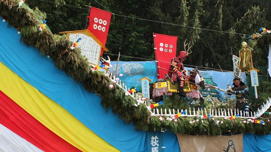 *【お祭り】たのしいお祭りで暑い夏を乗り切りましょう