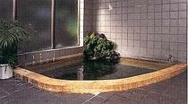 しろがねの湯の岩風呂
