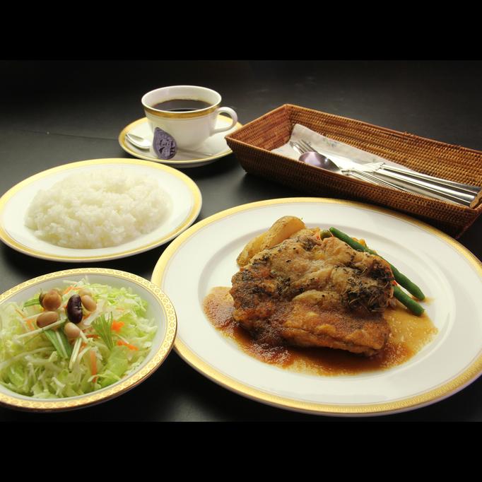 【ディナー料理】チキンの香草焼き