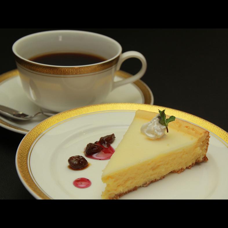 【お食事一例】チーズケーキ