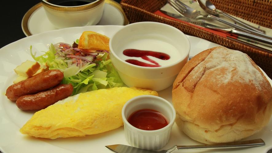 ◆【ご朝食一例】朝食は洋食のワンプレートになります