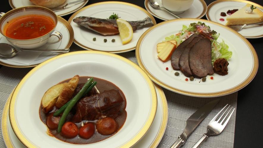 ◆【ディナー料理】とちぎ和牛ビーフシチューコース一例