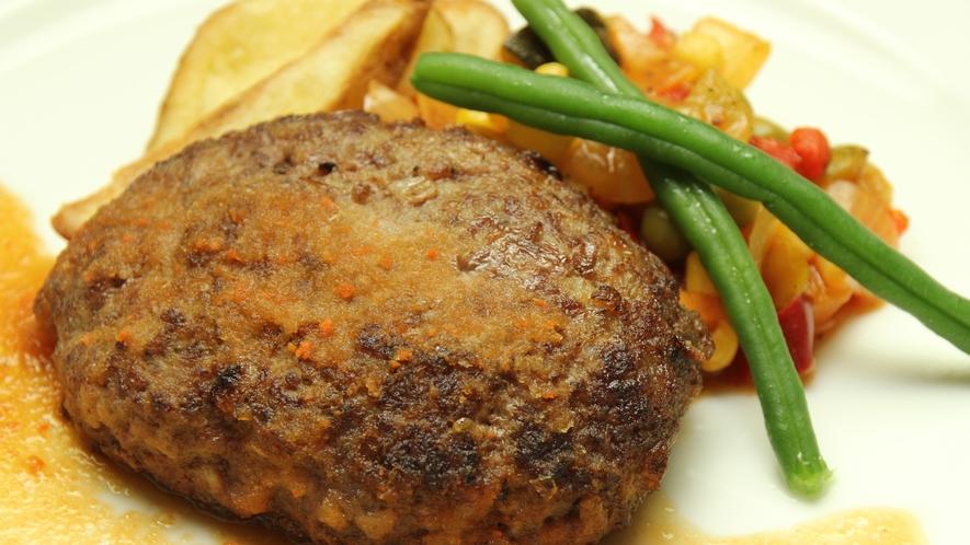 ◆【ディナー料理・単品】とちぎ和牛の手ごねハンバーグ