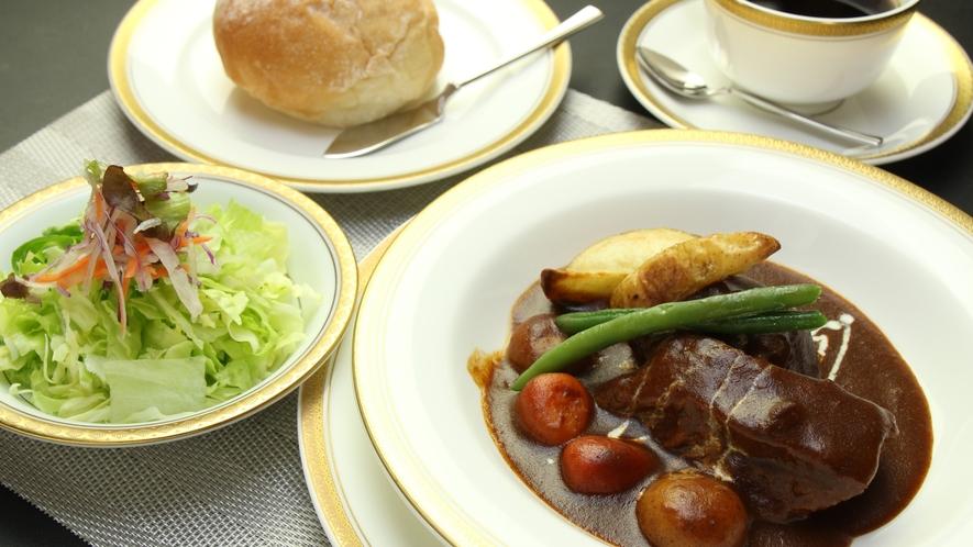 ◆【ランチ料理】とちぎ和牛ビーフシチューコース一例