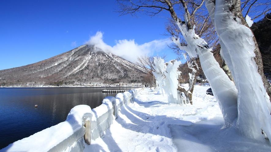◆【中禅寺湖-冬景色-】